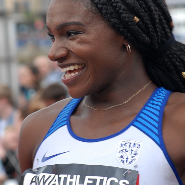 """Dina Asher-Smith"" stock image"