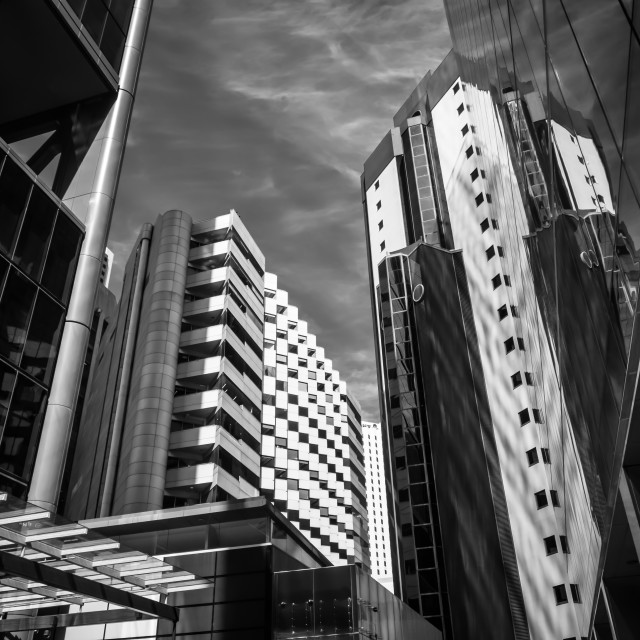 """""""Perth Buildings"""" stock image"""