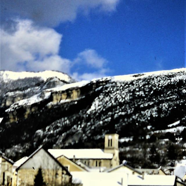 """Alpine House"" stock image"