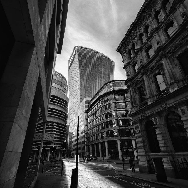 """The Shard Building in Fenchurch Street"" stock image"