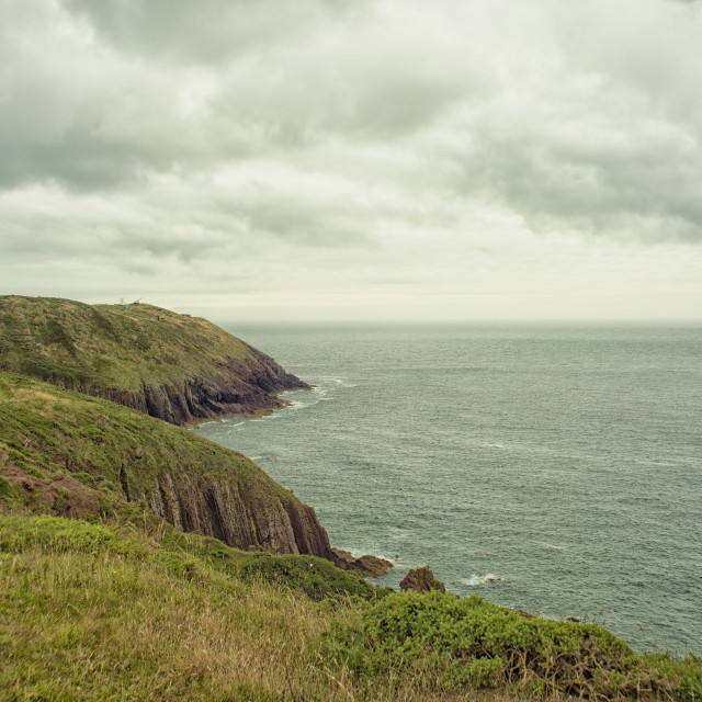 """Beautiful Pembrokeshire coast in Wales"" stock image"
