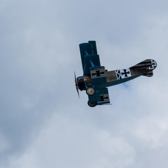 """""""Fokker Triplane DR1"""" stock image"""