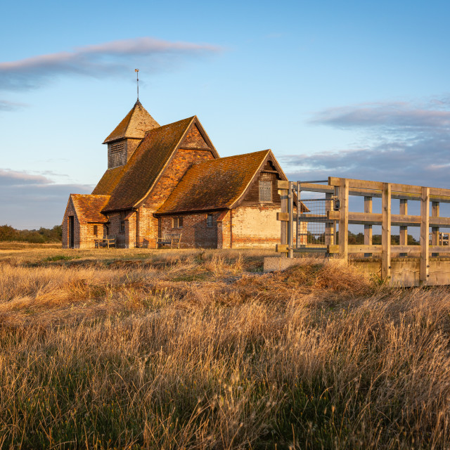 """Thomas a Becket Church"" stock image"