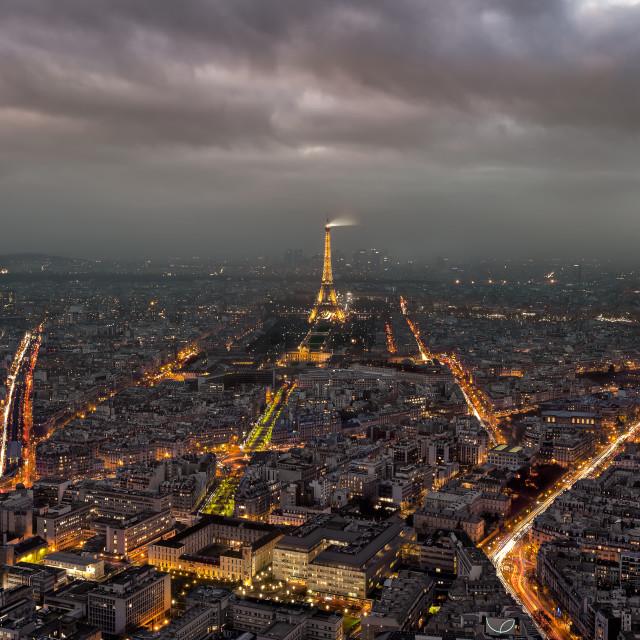 """""""Paris view"""" stock image"""