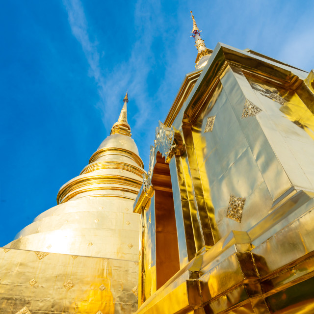 """Wat Phrathat Doi Suthep in Chiang Mai"" stock image"