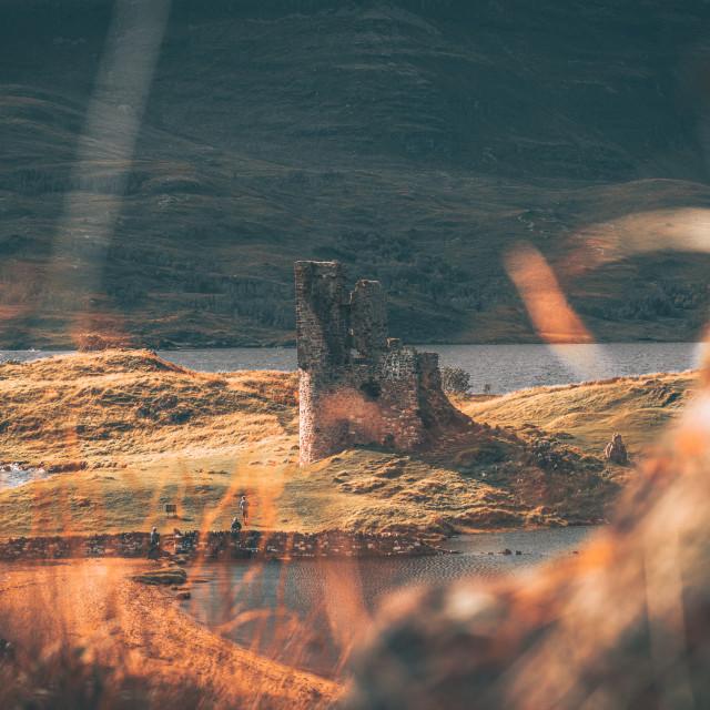 """Scotland Castle"" stock image"
