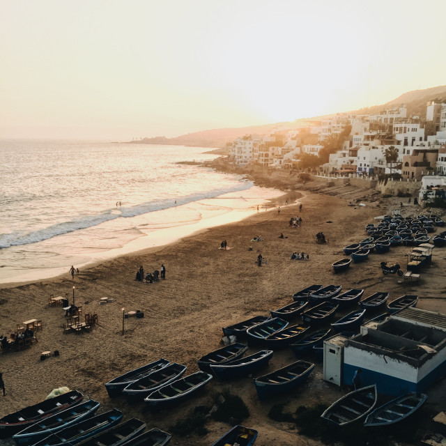 """""""TAGHAZOUT"""" stock image"""
