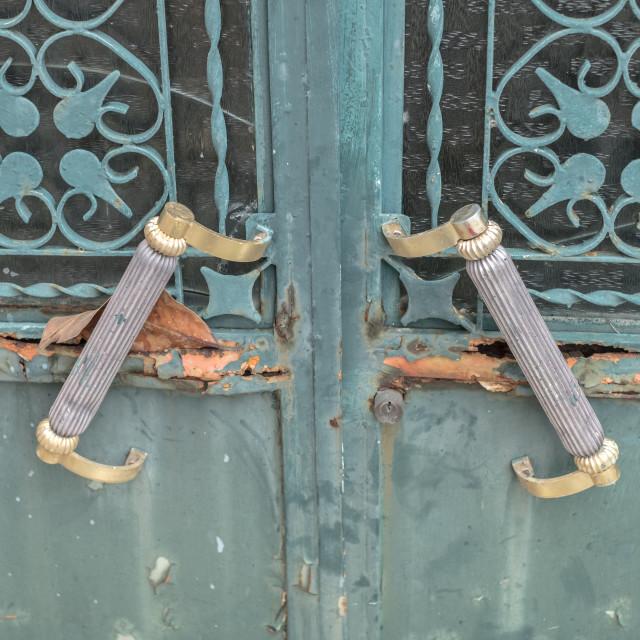 """""""Door Handles"""" stock image"""