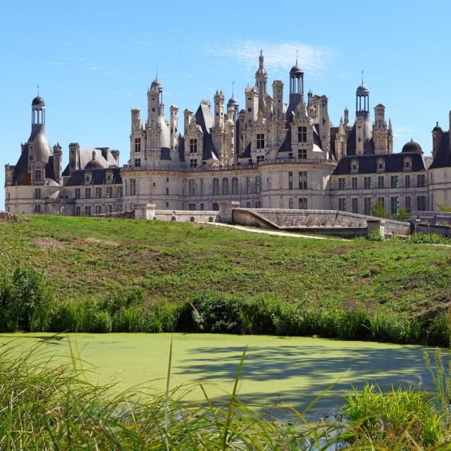 """Chambord castle"" stock image"