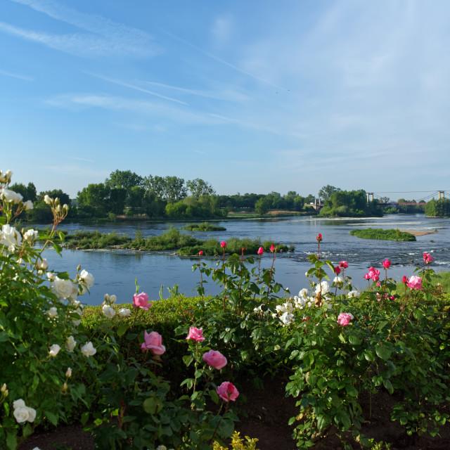"""""""Meung-sur-Loire"""" stock image"""