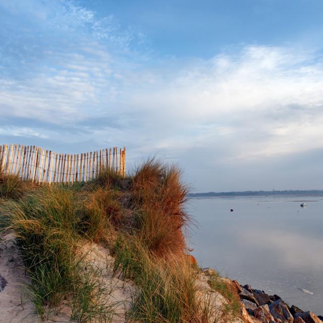 """""""Sienne estuary"""" stock image"""