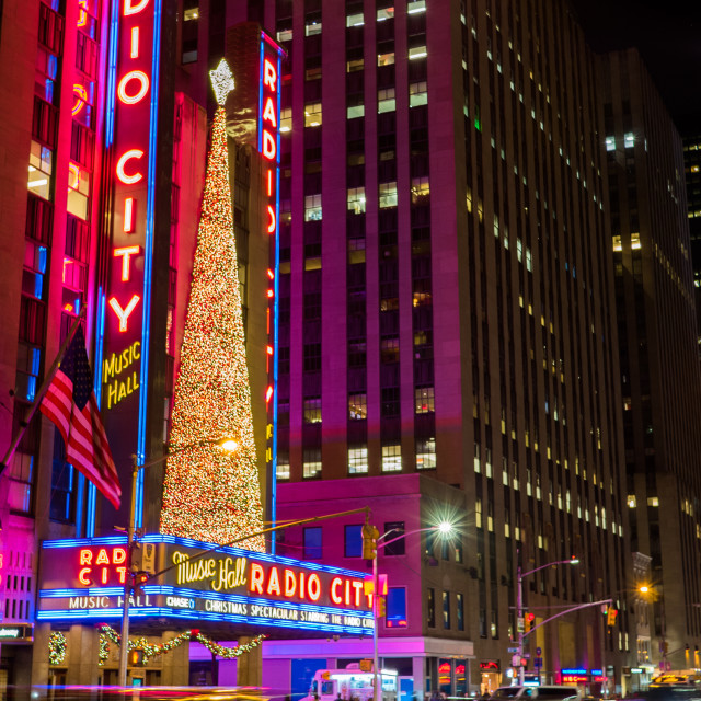 """Christmas in New York"" stock image"