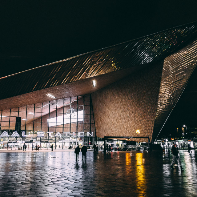 """""""Centraal Station"""" stock image"""