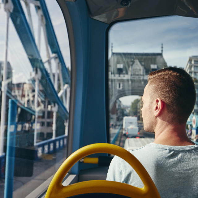 """""""City life in London"""" stock image"""