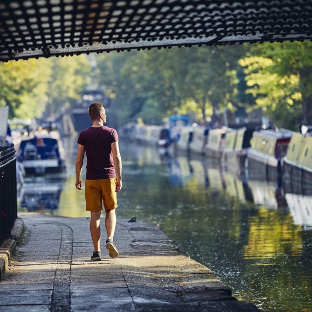 """Little Venice in London"" stock image"