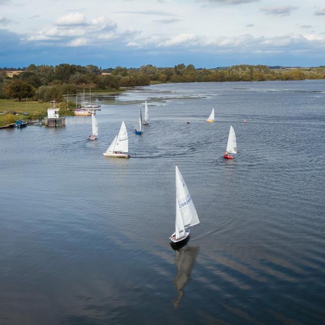 """""""Sailing boats"""" stock image"""