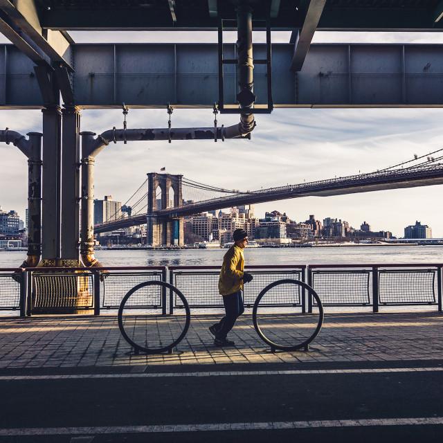 """NYC Sports"" stock image"