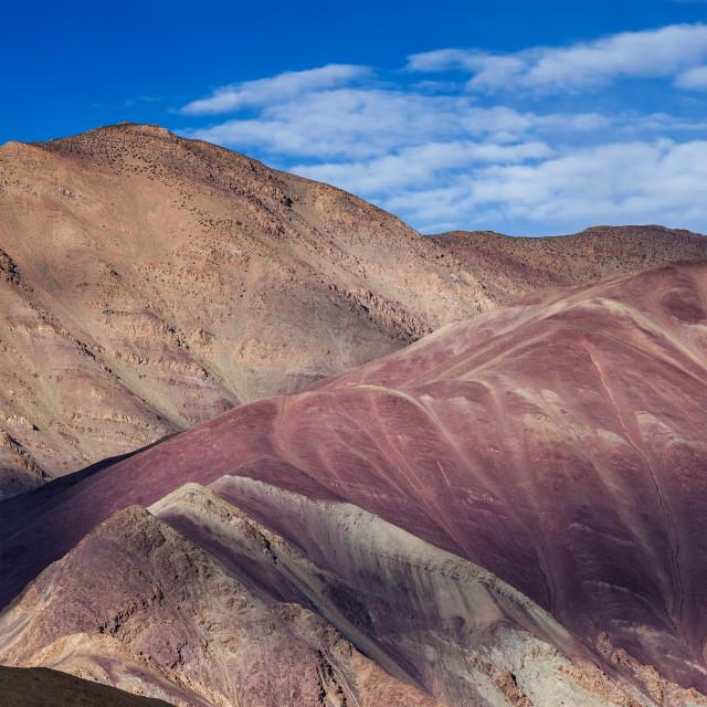 """""""House in Himalayas, Ladakh, India"""" stock image"""