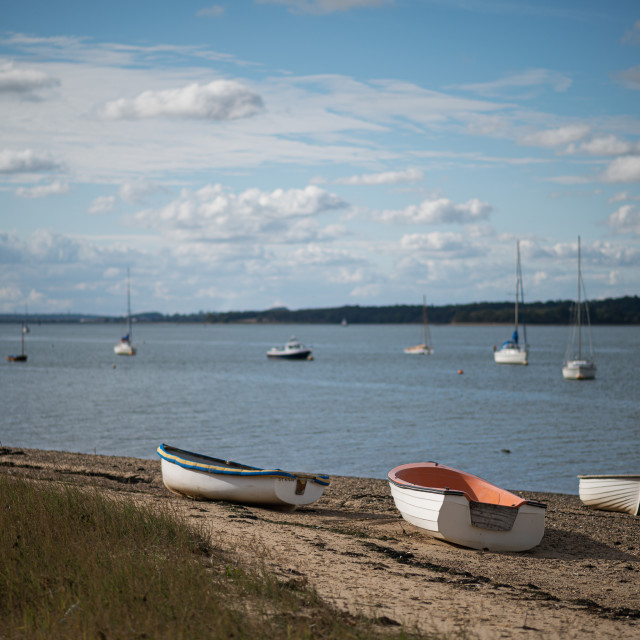 """Wrabness Foreshore Essex"" stock image"