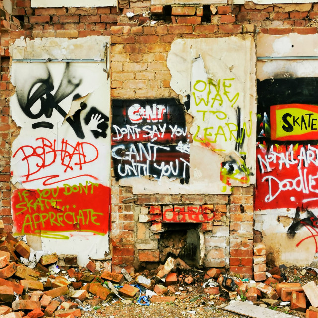 """Graffiti"" stock image"
