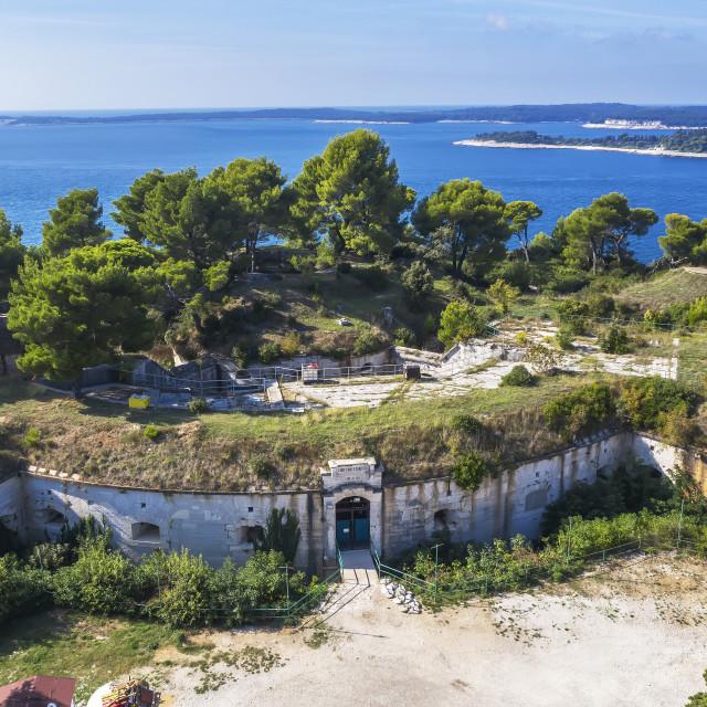 """Fort Punta Christo"" stock image"