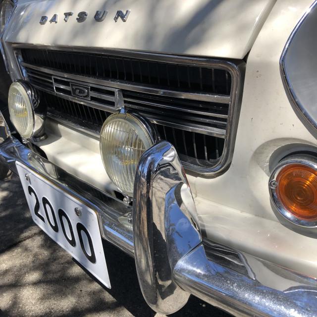 """Datsun in California"" stock image"