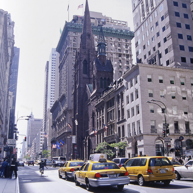"""Fifth Avenue Manhattan, New York City"" stock image"