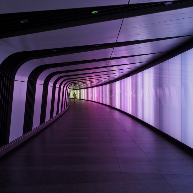 """""""Time Tunnel"""" stock image"""