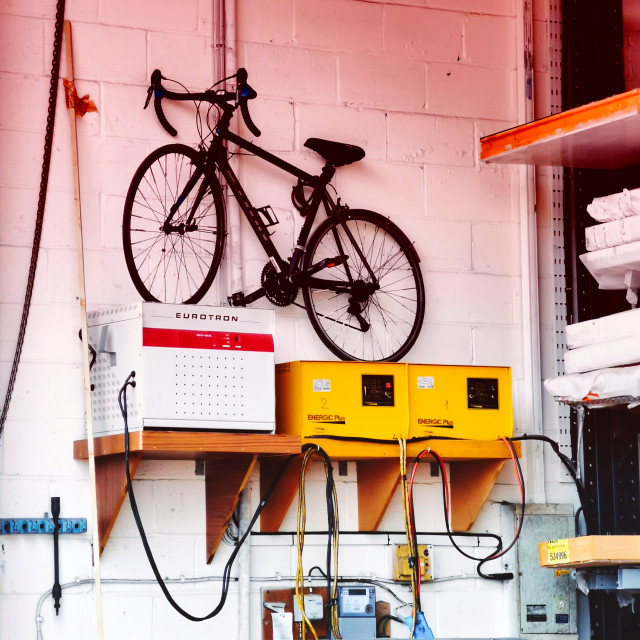 """Bike Storage"" stock image"