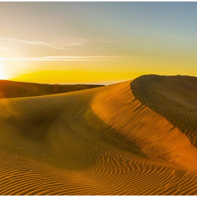 """Maspalomas Dunes"" stock image"