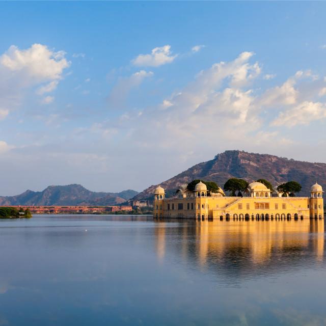 """Jal Mahal (Water Palace). Jaipur, Rajasthan, India"" stock image"