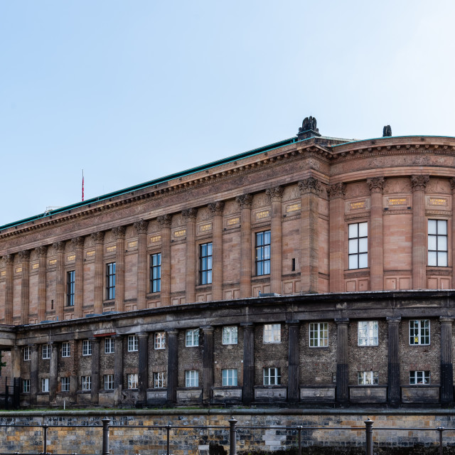 """The Alte Nationalgalerie in Museum Island, Berlin"" stock image"