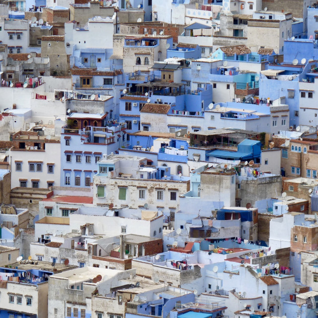 """""""Chefchaouen, Morocco"""" stock image"""