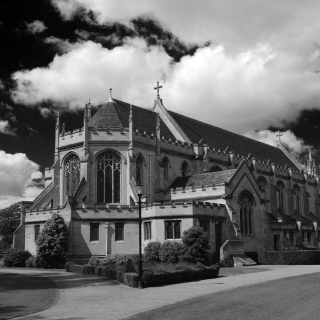 """""""The Chapel of St Anthony, Oundle town, Northamptonshire, England, UK"""" stock image"""