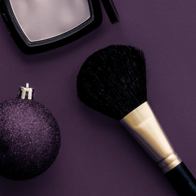 """""""Make-up and cosmetics product set for beauty brand Christmas sale promotion,..."""" stock image"""