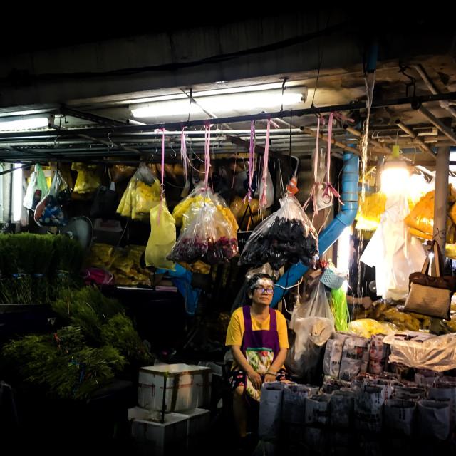 """The Thai Florist"" stock image"