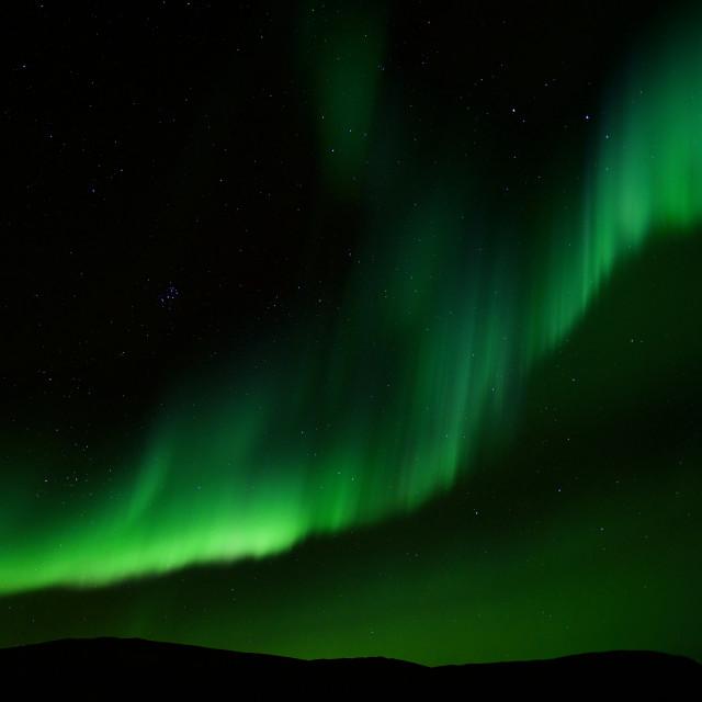 """Arctic Aurora Borealis"" stock image"