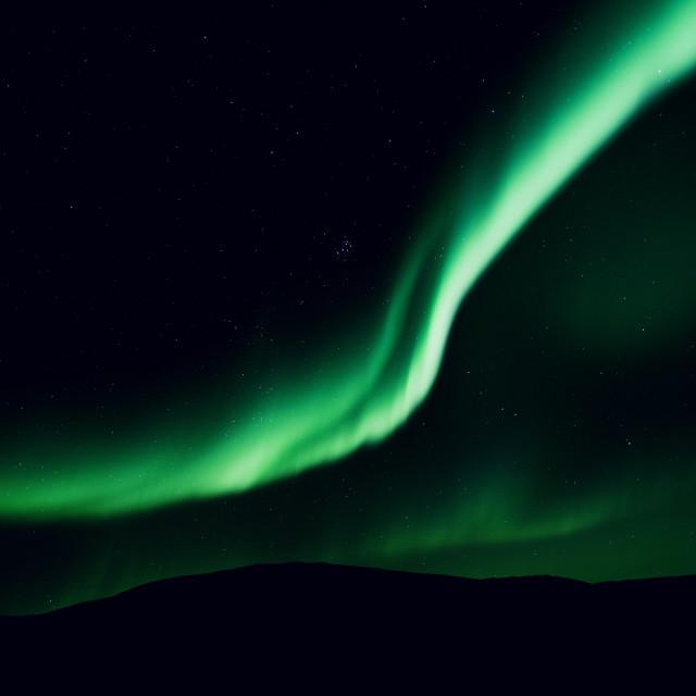 """""""Arctic Aurora 6"""" stock image"""