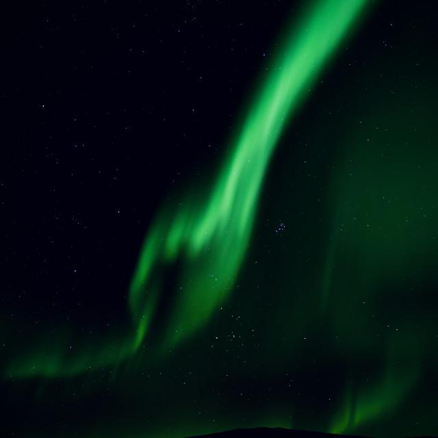 """""""Arctic Aurora 5"""" stock image"""
