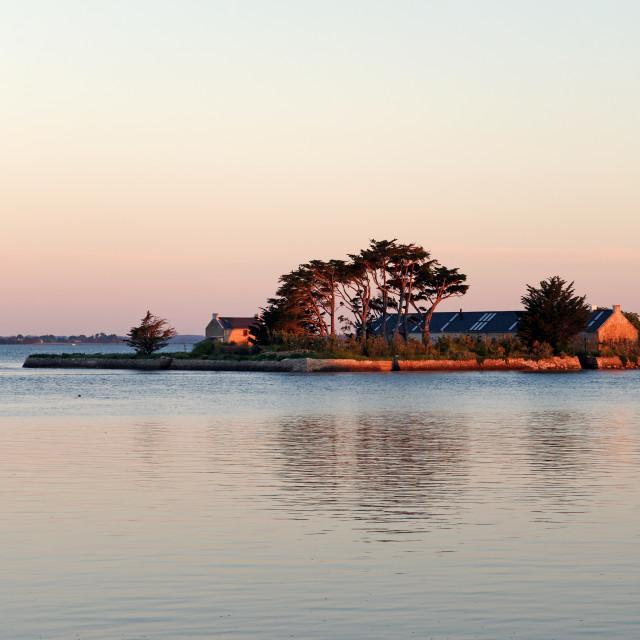 """Quistinic island"" stock image"