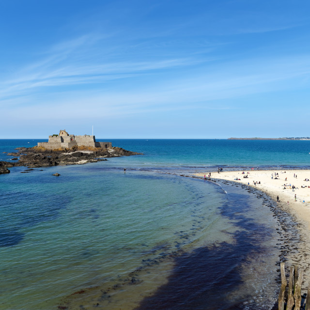 """Saint Malo"" stock image"