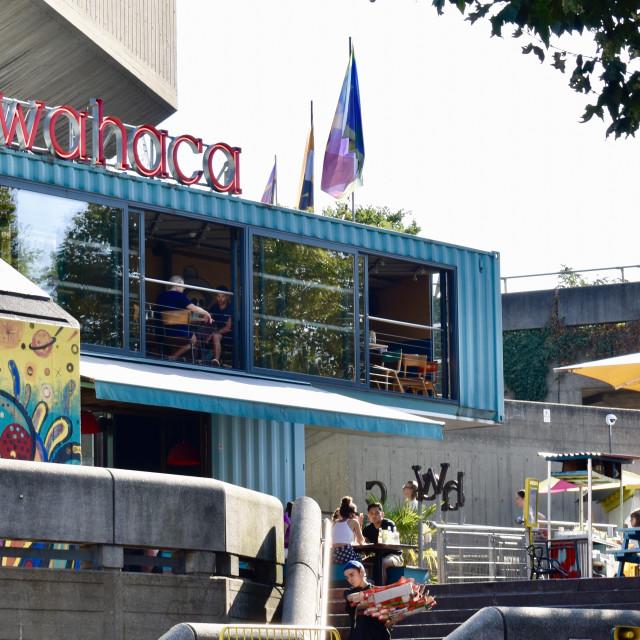 """""""Wahaca on the Southbank"""" stock image"""
