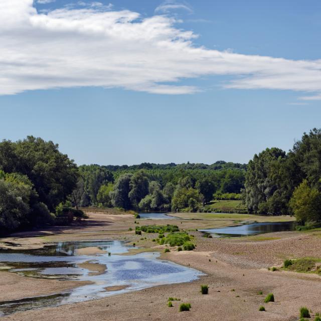 """Loire river"" stock image"