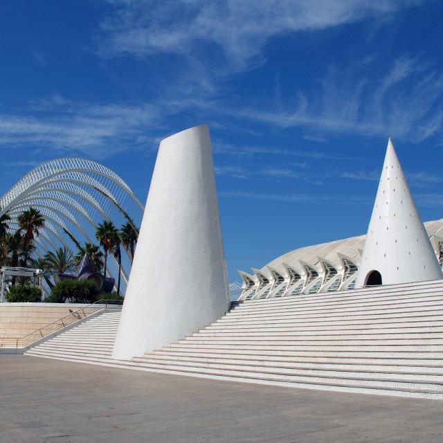 """City of Arts and Sciences, Valencia"" stock image"