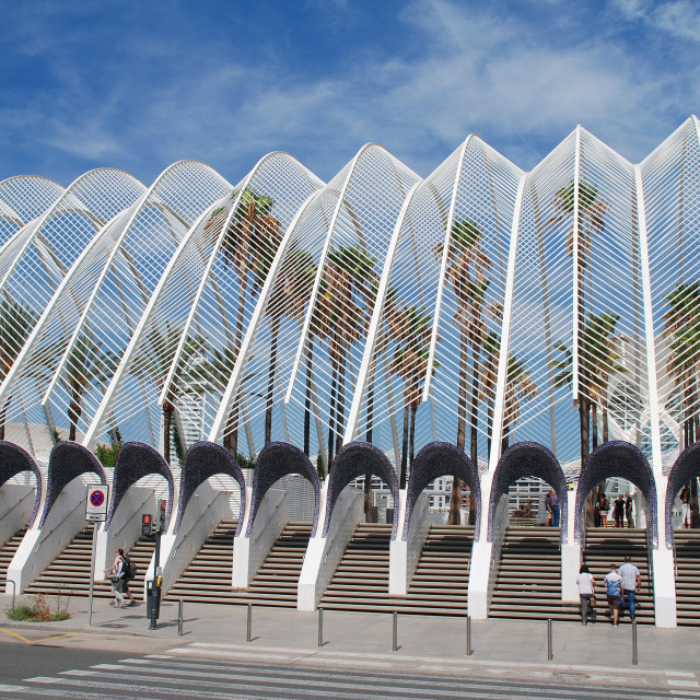 """""""The Umbracle building, Valencia"""" stock image"""
