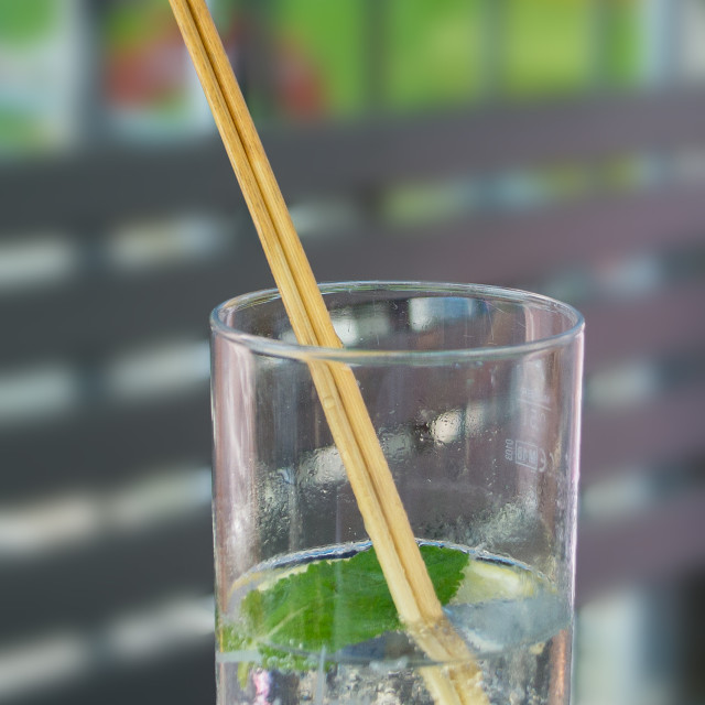 """Reed straws"" stock image"