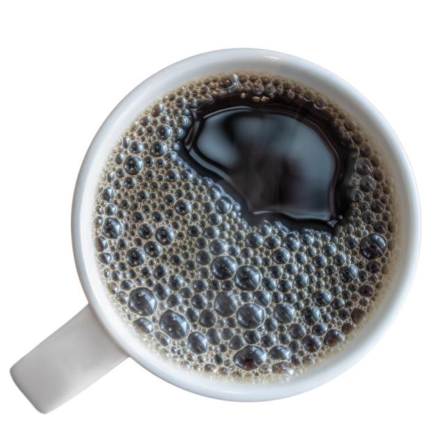 """Mug Of Fresh Black Coffee"" stock image"