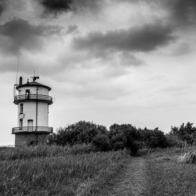 """""""The old lighthouse"""" stock image"""