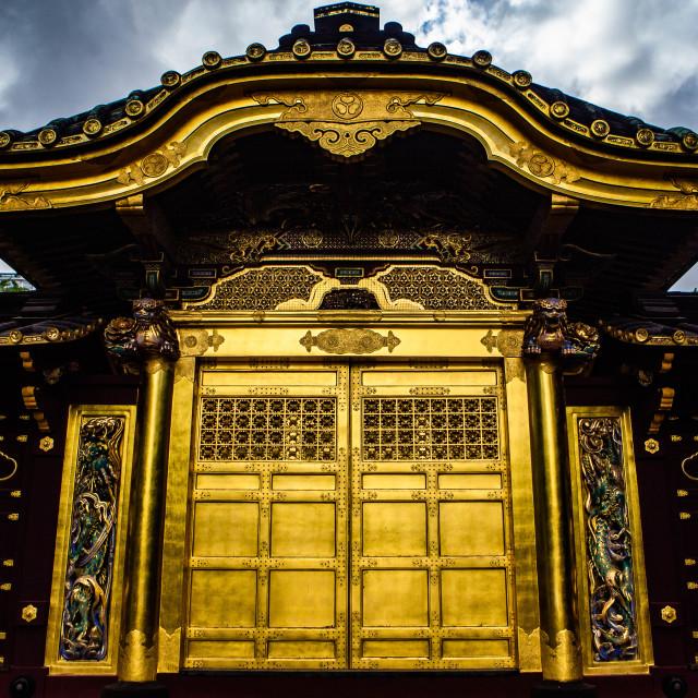 """""""Karamon (Chinese Style Gate) in Tokyo, Japan"""" stock image"""