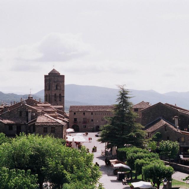 """Ainsa, Spain"" stock image"